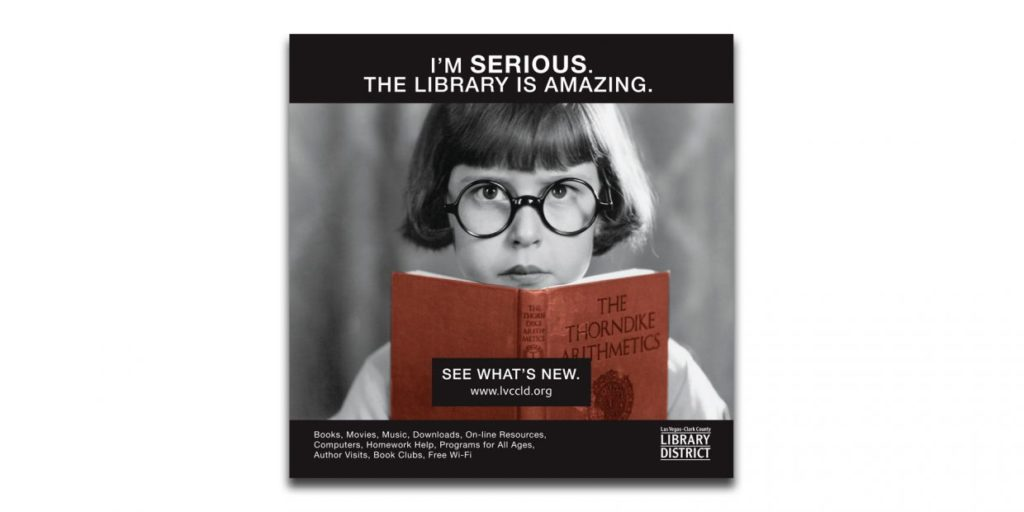 Clark County Library District Advertising Campaign