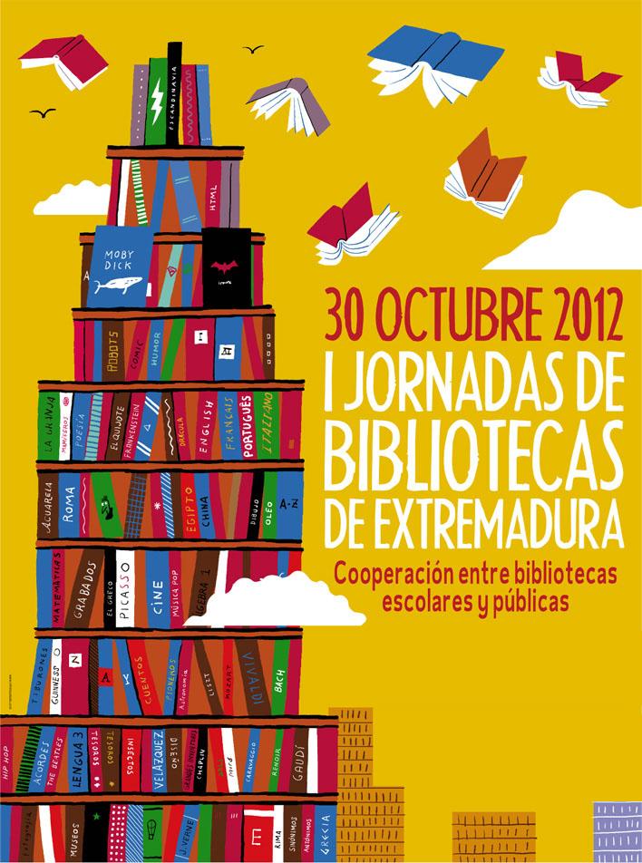 dagen van de bibliotheek Extremadura