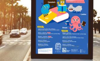 poster biblioteca publica de utrera