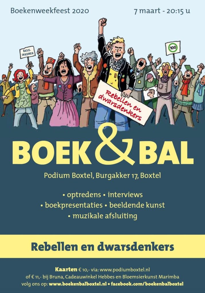 Boek&Bal Boxtel poster