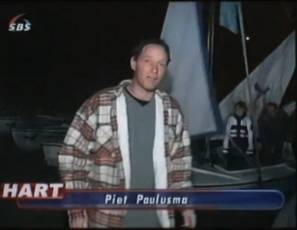 Piet Paulusma bij de Berenburgcup bij de Ulepanne