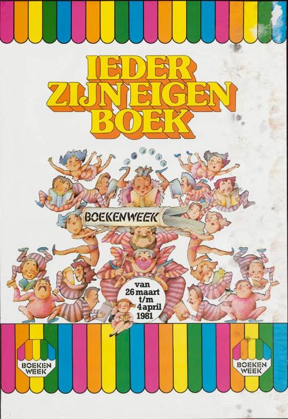 boekenweek 1981 ieder zijn eigen boek
