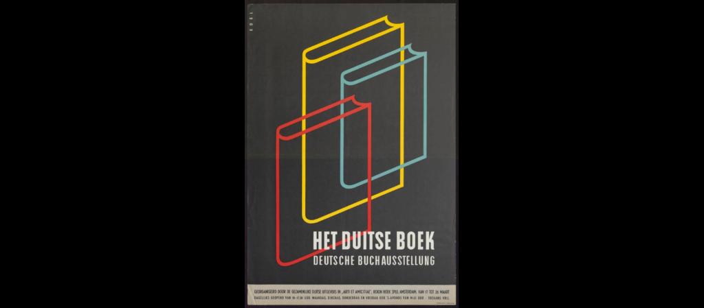 jaren 60 het Duitse boek Arti et Amicitea