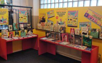 Kinderboekenweek 2020 themahoek in bibliotheek Hilversum