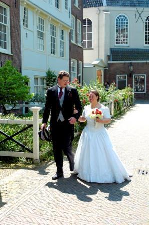 29052004 Bruiloft Marijn en Loes, Begijnhof