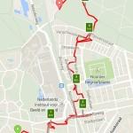 Avondvierdaagse Hilversum, de gelopen route