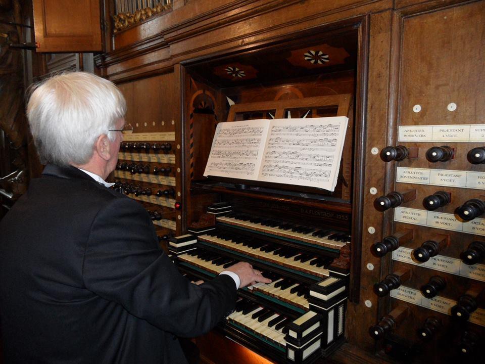 Ad Krijger, orgel Zutphen