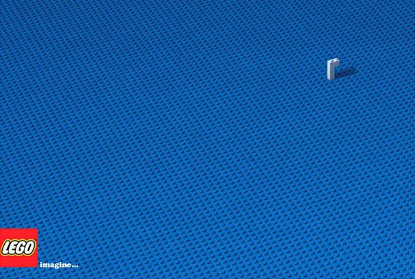 Advertentie voor lego, duikboot