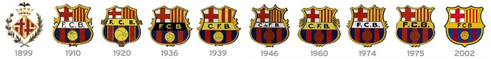 Barcelona geschiedenis logo