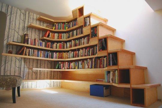 boekentrap boekenkast