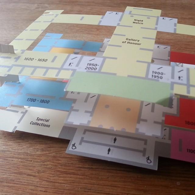 De onwijs gave 3d-plattegrond van het Rijksmuseum