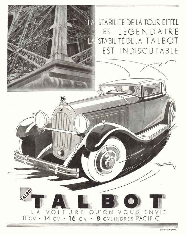 De stabiliteit van de Eiffeltoren is legendarisch, over de stabiliteit van Talbot valt niet te discussieren