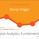 Analytics Academy van Google