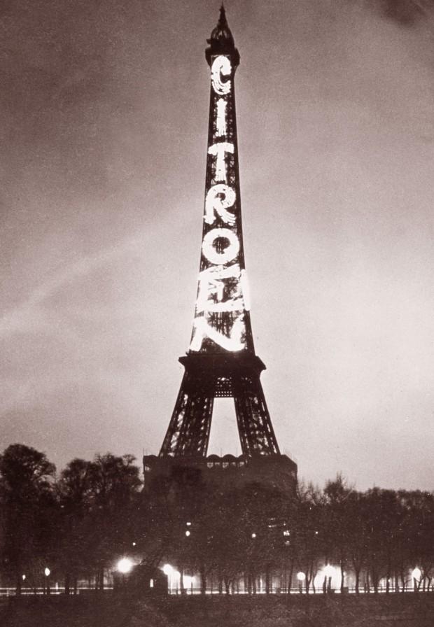 Eiffeltoren Citroën