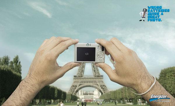 Eiffeltoren Energizer