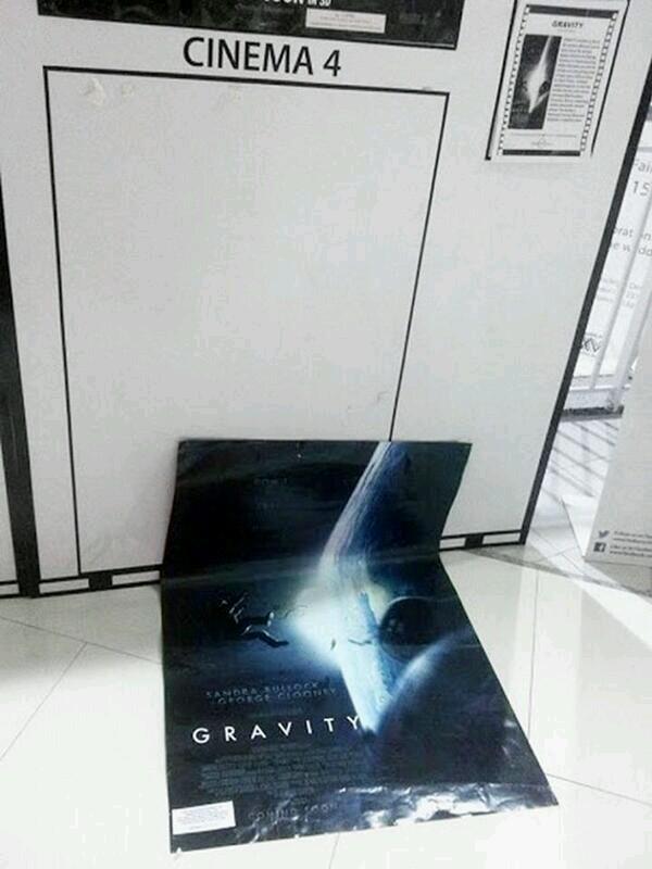 Filmposter Gravity