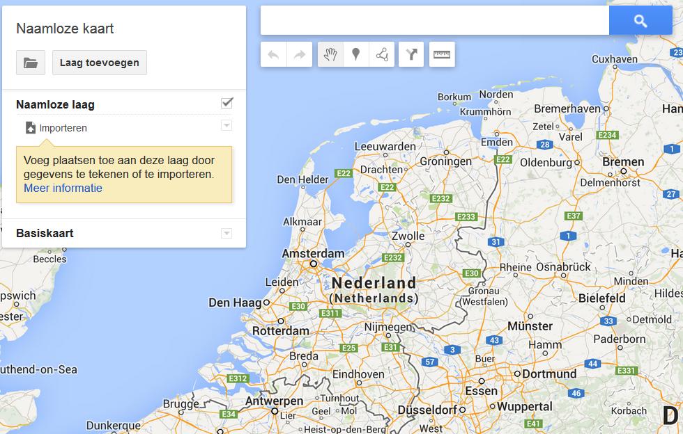 Google Maps - aangepaste kaart maken