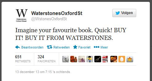 Koop snel je favoriete boek. Waterstones Oxford Street