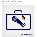 Lufthansa verslaat sponsor Emirates #wk14