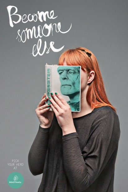 Mint Vinetu Bookstore Become someone else - Frankenstein