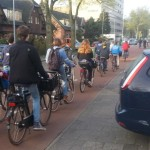 Weekly Photo Challenge – On the move – Cycling in the Netherlands