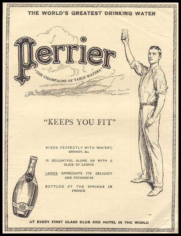Perrier champagne of table waters