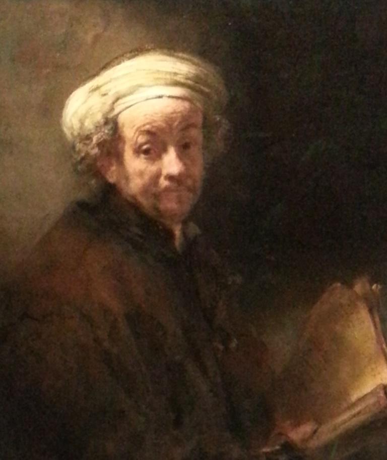Selfie van Rembrandt van Rijn als Paulus, Rijksmuseum