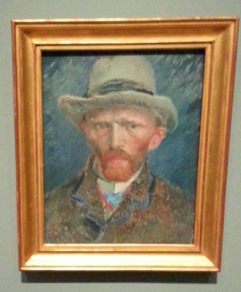 Selfie van Vincent van Gogh