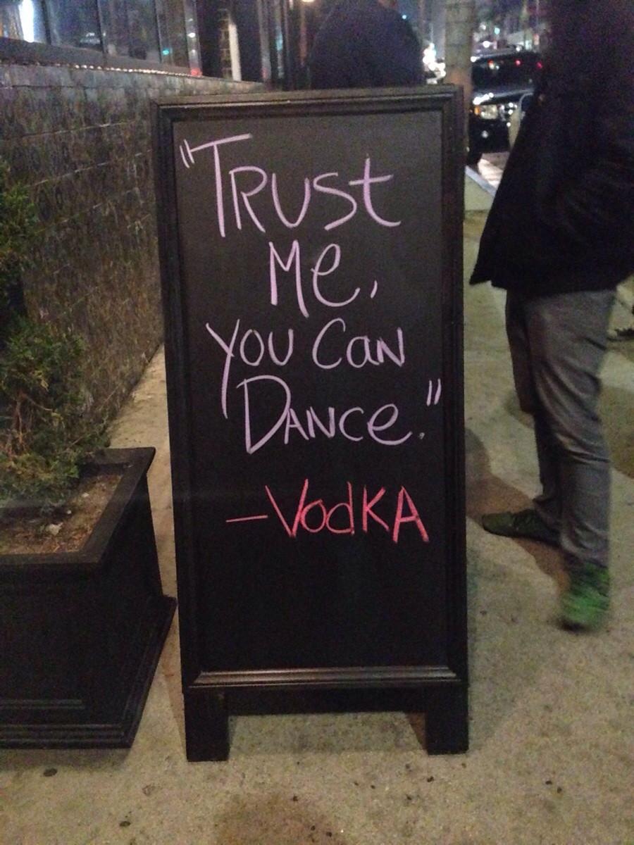 Stoepbord -  Trust me, you can dance - vodka