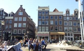 Streetlife Nieuwmarkt Amsterdam