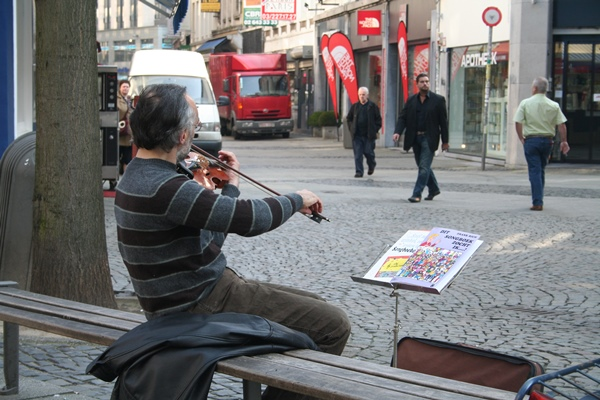 Violist in Antwerpen 10 april 2008