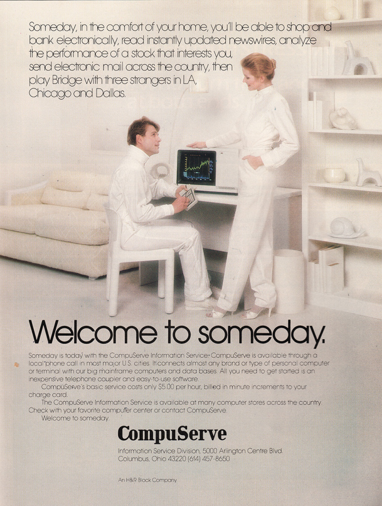 Welcome to someday CompuServe, 1981 1982