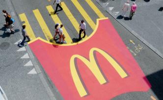 Zebra Friet McDonalds