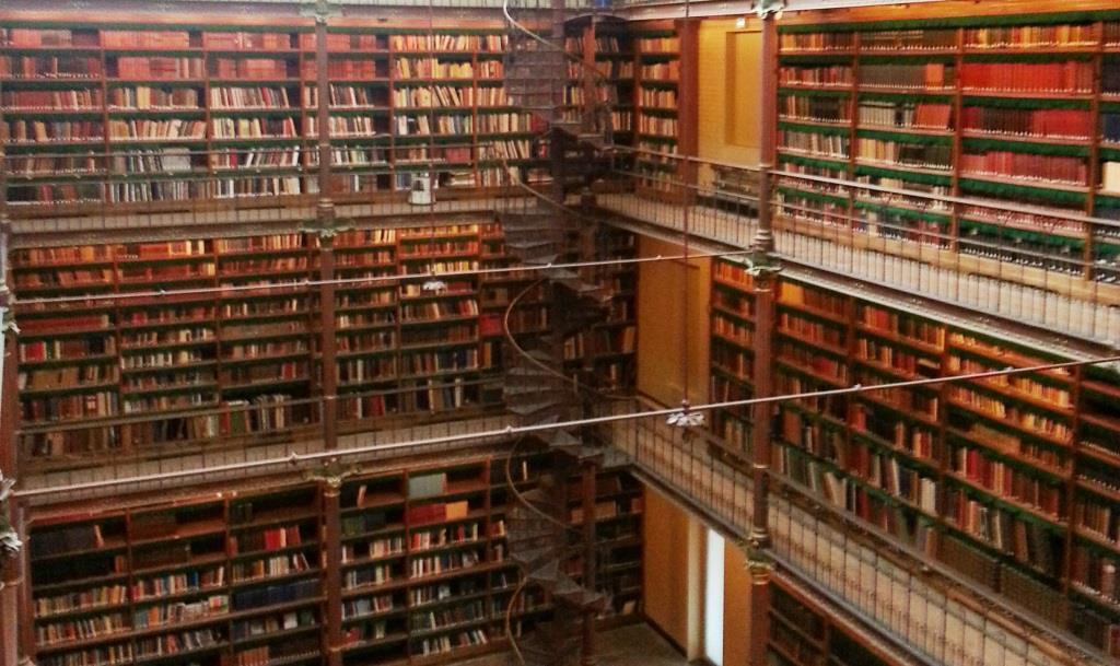 bibliotheek in het Rijksmuseum