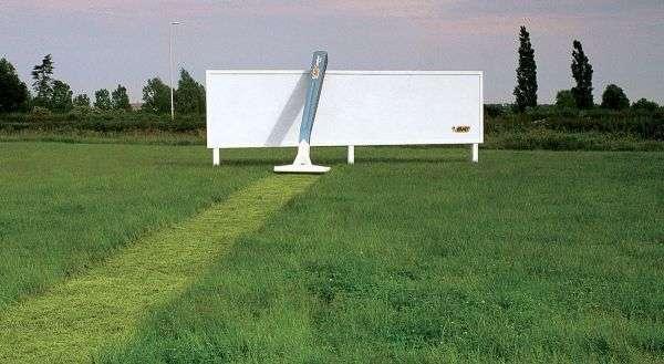 bic scheermes grass