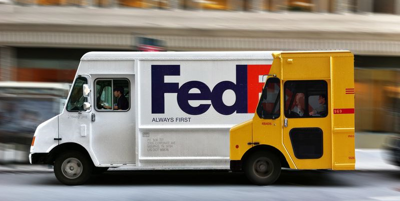 FedEx is sneller dan DHL