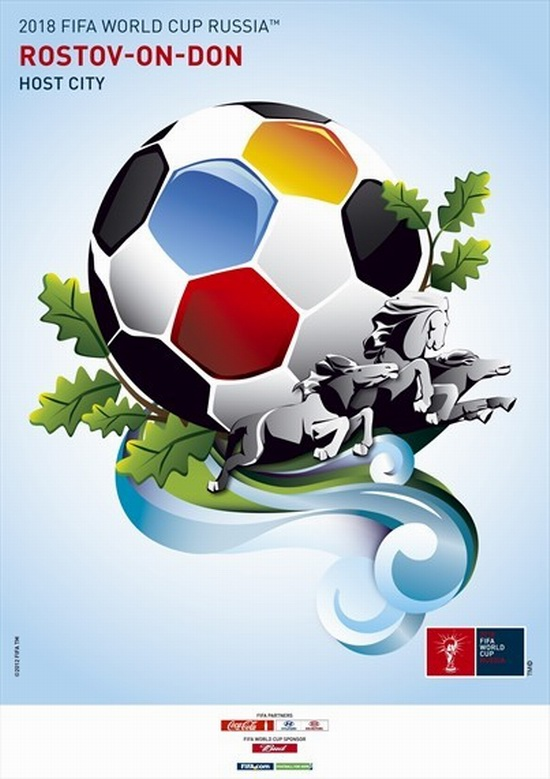 fifa-world-cup-2018-WK voetbal russia-rostov-on-don-poster