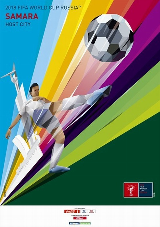 fifa-world-cup-2018-WK voetbal russia-samara-poster