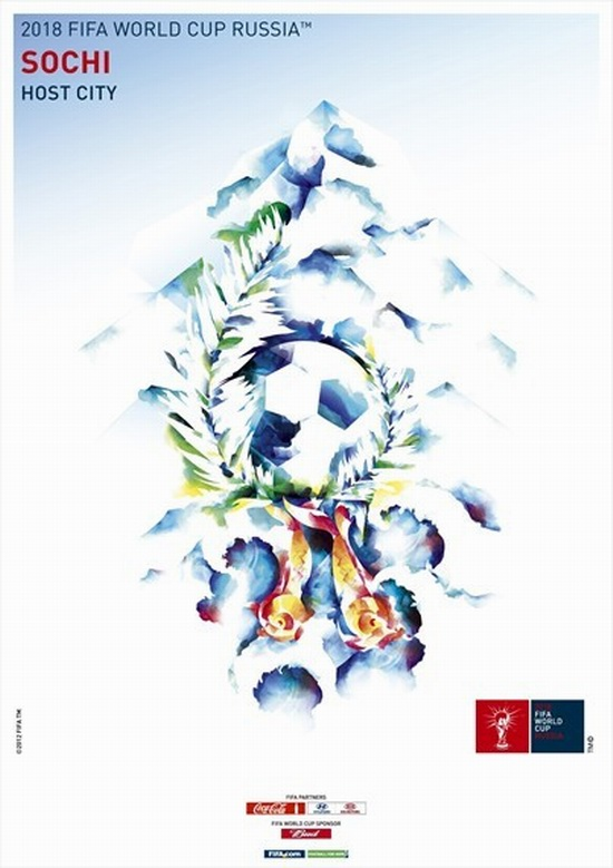 fifa-world-cup-2018-WK voetbal russia-sochi-poster