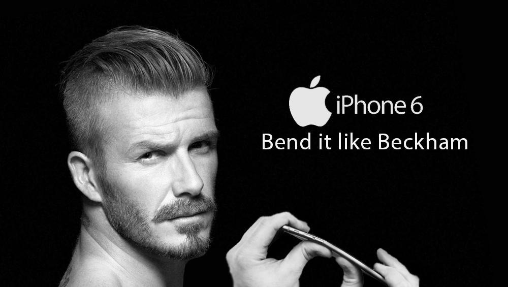 iphone 6 bend it like Beckham