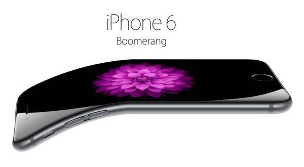 #bendgate iPhone 6 Source: Twitter