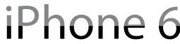 iPhone 6 logo