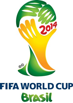 logo worldcup Brazil 2014 WK voetbal