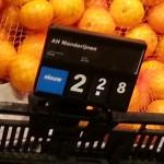 Mandarijnen, manderijnen – Goedkoper met spelfout