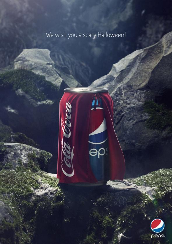 Pepsi Halloween, Coca Cola