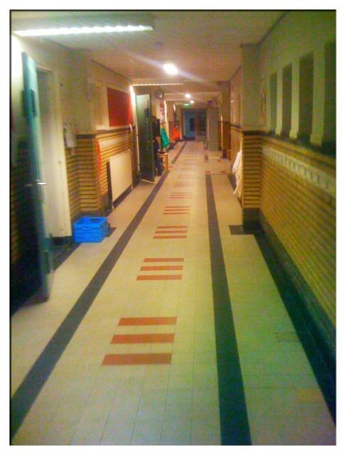 De gang op school