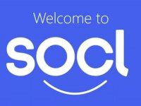Het nieuwe Microsoft Social network, Socl. Naast de smiley maken de ogen O en C het gezicht completer