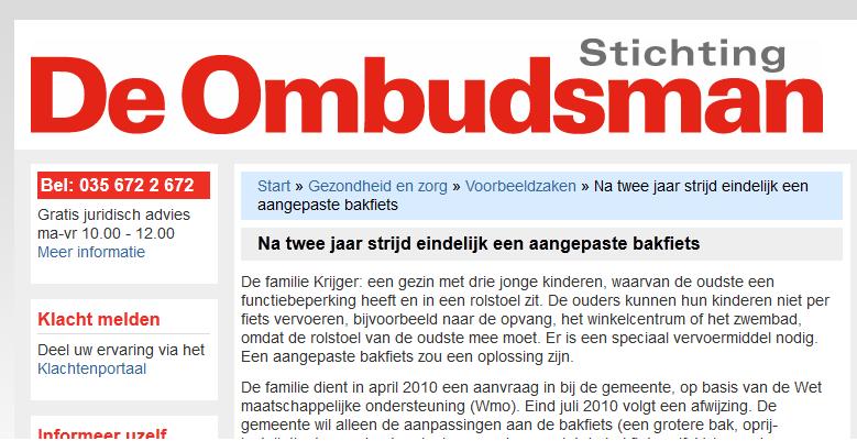 Stichting De Ombudsman rechtszaak