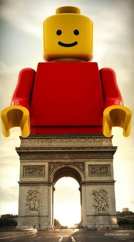 Lego Arc de Triomphe