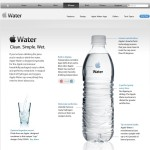 iWater, water van Apple